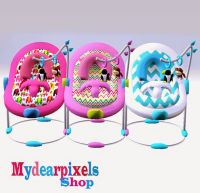 My Sims 3 Blog: Baby Bouncer Seat by MyDearPixels | Sims 3 ...