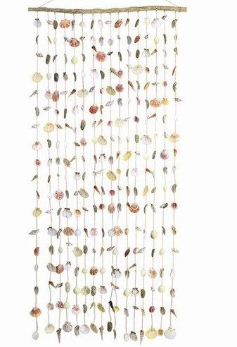 Real Seashell Door Curtain Shells HOUSE Pinterest Shells