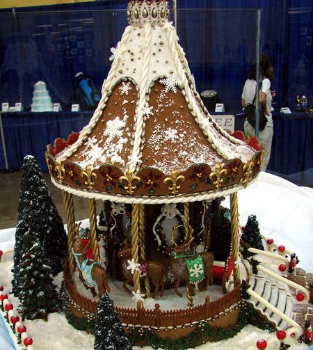 The Craziest Gingerbread Houses On The Internet Gingerbread