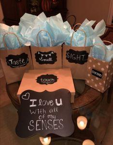 Senses Easy Diy Birthday Ts For Boyfriend Handmade Presents Husband Anniversary Also Rh Ar