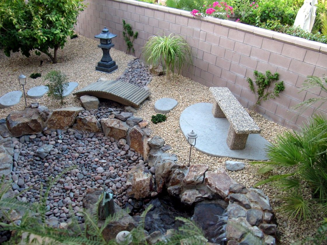 Image Of How To Landscape With Rocks Garden Ideas Pebble
