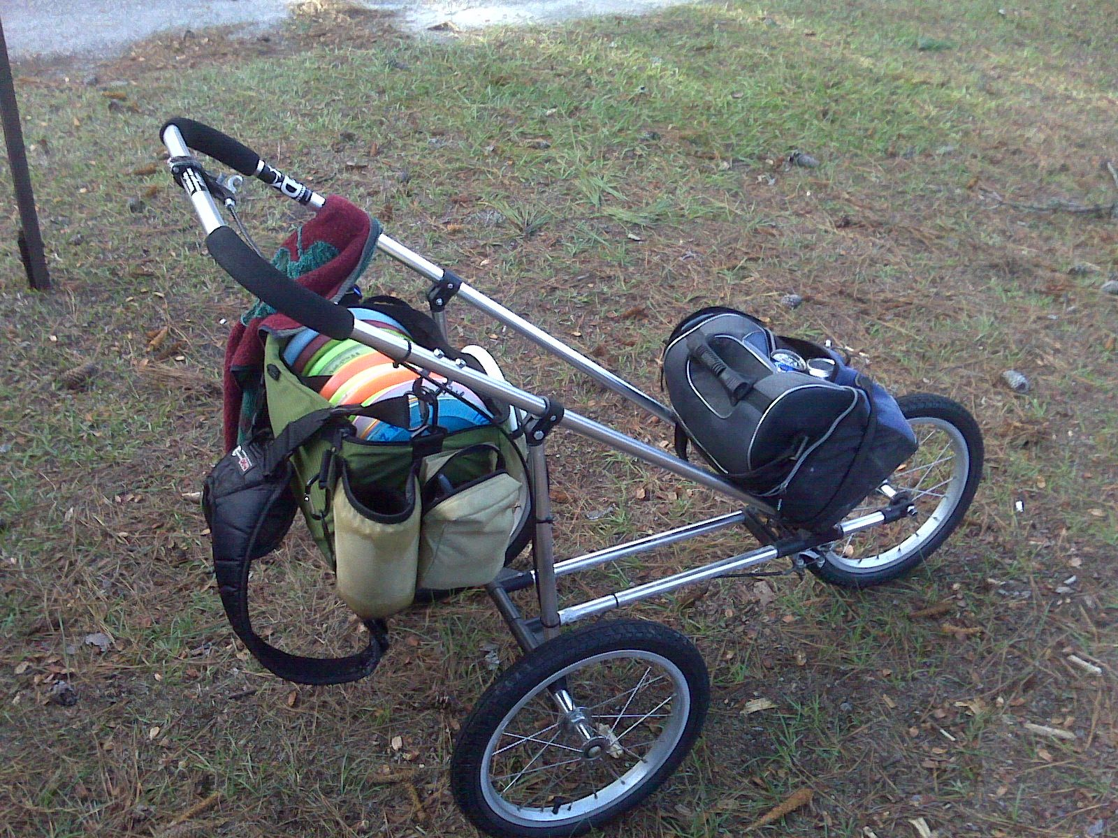 Disc Golf Chair Disc Golf Cart Made From Stroller For The Love Of Disc