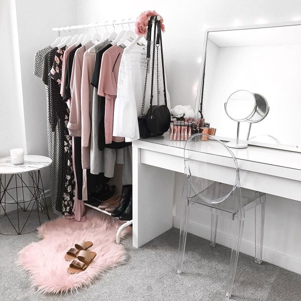 Bedroom Dressing Table with Mirror Target