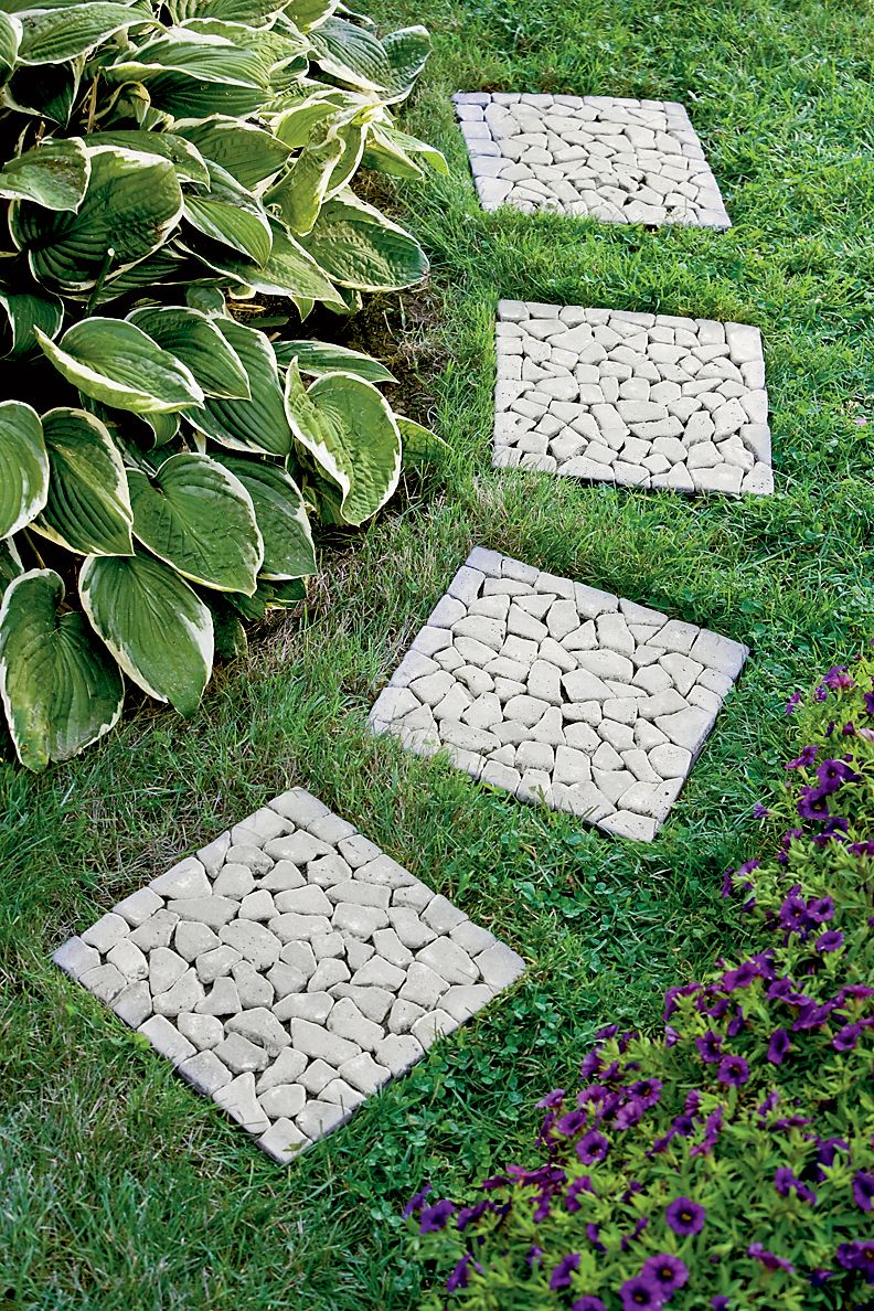 Garden Stepping Stones Garden Pinterest Different Types