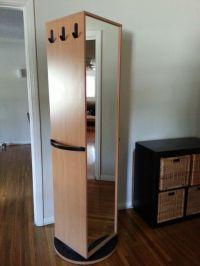 Ikea Kajak Rotating/Swivel Cabinet/Wardrobe (has mirror ...