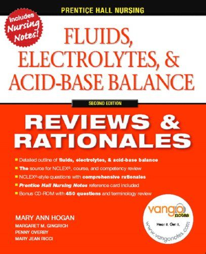 Acid base balance also fluids electrolytes nd edition prentice hall rh pinterest