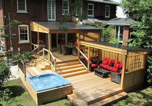 Pool Patio Ideas Extend Your Patio On To Your Garden With A