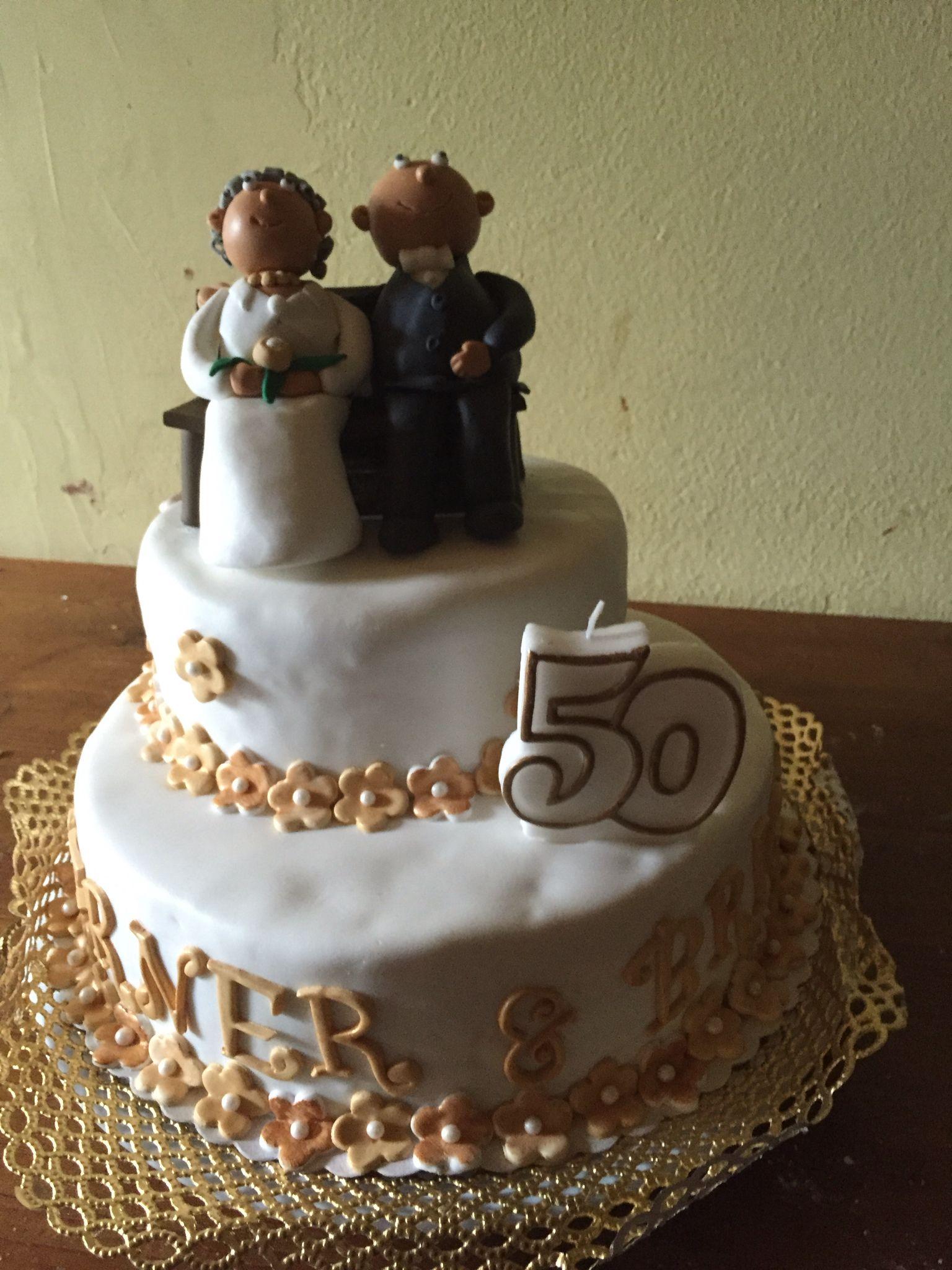 Torte Zur Goldenen Hochzeit Pinteres