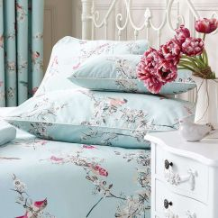 Chair Seat Covers Dunelm Swimming Pool Chairs Name Duck Egg Beautiful Birds Boudoir Cushion House