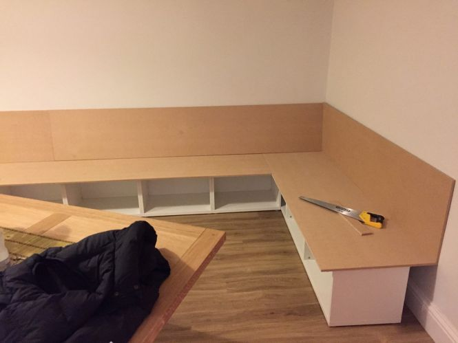 Besta Bench Seat Dining Area Ikea Hackers