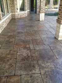 stamped-concrete-overlay-pool-deck-frisco-tx4 | Backyard ...