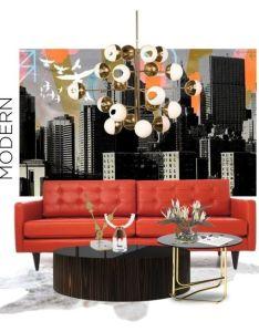 Mid century modern vibe by gloriettequartet liked on polyvore featuring interior decoratinginterior also rh nz pinterest