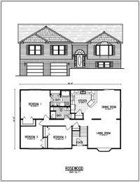Raised ranch house plans - House design plans