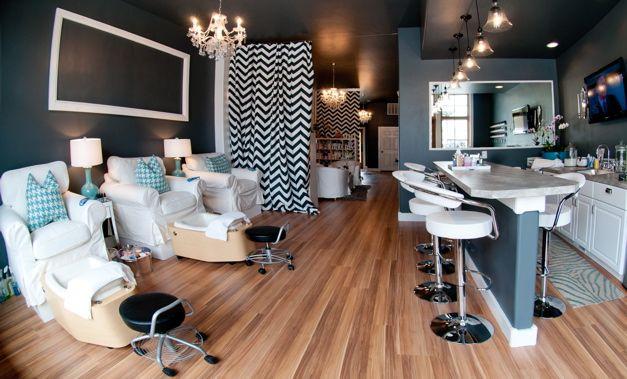 Nails Salon Interior Design Photos