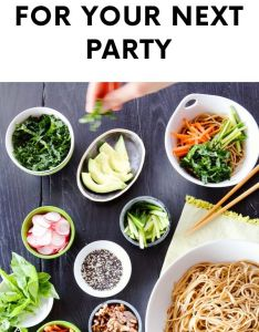 diy food and drink stations for your next party also recipes rh pinterest