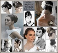Audrey Hepburn Wedding Hair | An Indecisive Bride ...