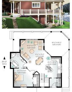 Cottage country victorian house plan also shelters and rh pinterest