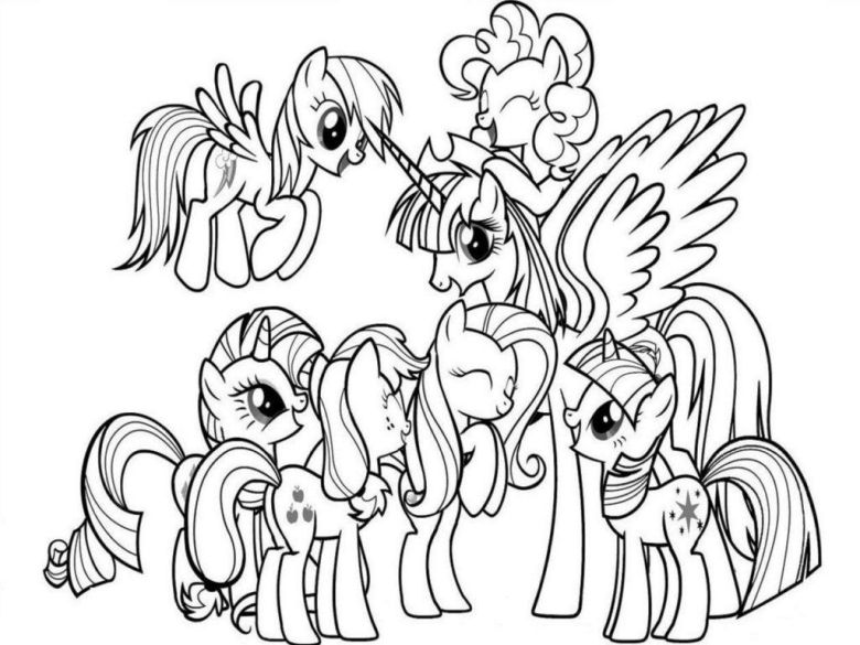 my little pony coloring pages - google-søgning | my little pony
