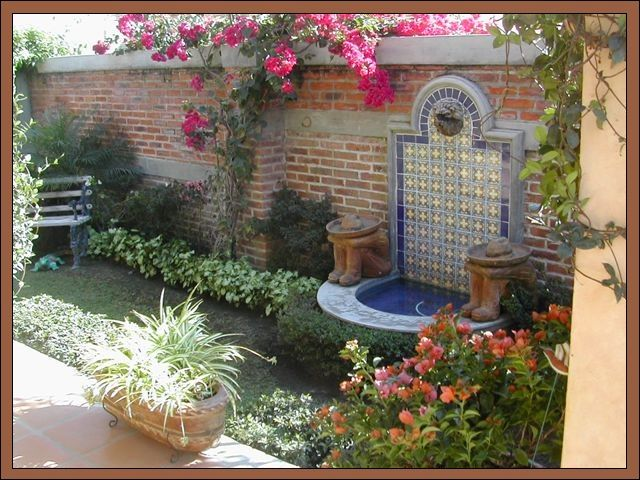 Mexican Style Water Feature This Is It! I'm Going To Make