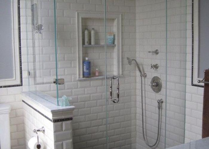 Subway tile bathroom tiles shower for the home also best bath designs images on pinterest