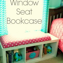 Diy Chair Cushion No Sew Akracing Gaming Review Window Seat Bookcase With Bench