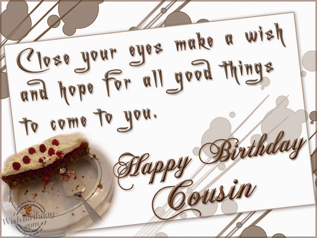 Happy Birthday Cousin Quotes Funny Happy Birthday Cousin Quotes Facebook Picture