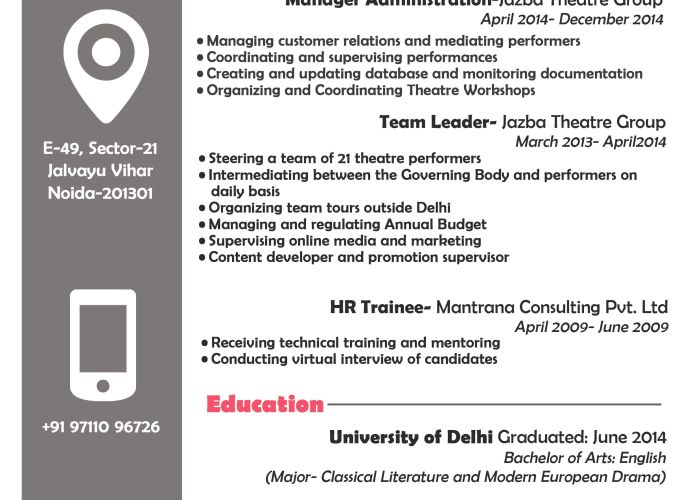 sample design of my cv page also graphic designs pinterest