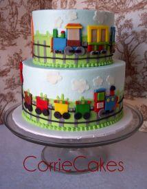 Train Birthday Cake Idea
