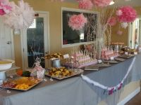 wedding shower food table | Entertaining | Pinterest ...