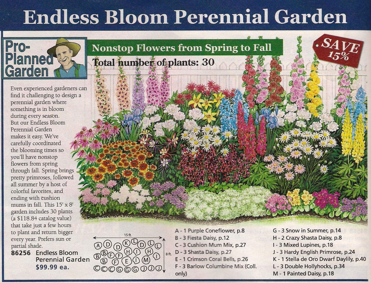 Perennial Bed Plan From Michigan Bulb Co West Garden Yard