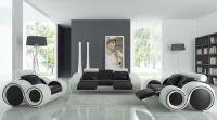 modern living room ideas black and white | Roselawnlutheran