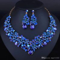 2017 Simple Style Africa Jewelry Set Royal Blue Noble
