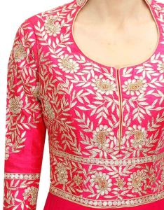 This black shirt covered in patches of beautiful embroidery is perfect for  formal gathering the entire cross stitch design that also best images about neck on pinterest casual dresses kurta rh