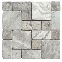 For the shower floor? Avenzo Silver Versailles Mosaic ...