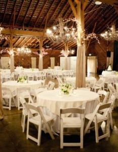 Country wedding reception in  barn with burlap wrapped beams also pin by tarra hendricks on dream pinterest rh