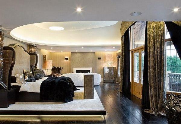 Kris Jenners bedroom  Home Decor  Pinterest  Bedrooms