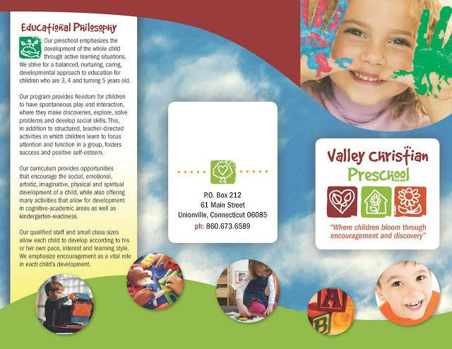 Valley Christian Preschool Download Our Brochure