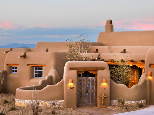 Adobe Style House In Taos New Mexico Adobe House By Sarka Trager