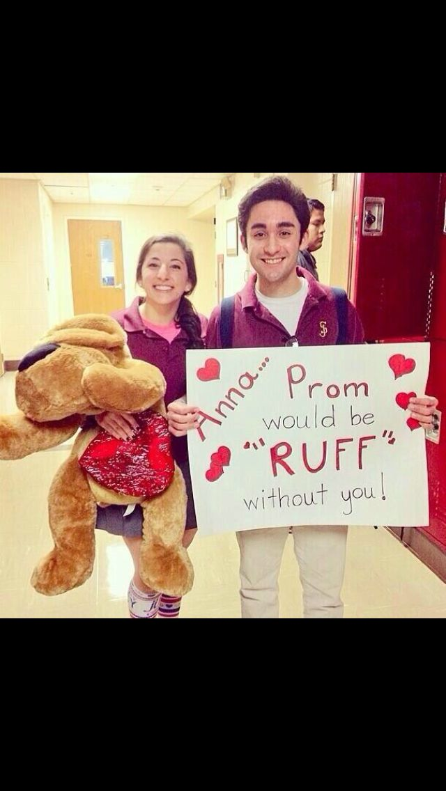 Love This Cutest Way To Ask A Girl To Prom Fun