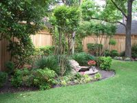 Landscaping Along Privacy Fence | Wood Fence: Residential ...