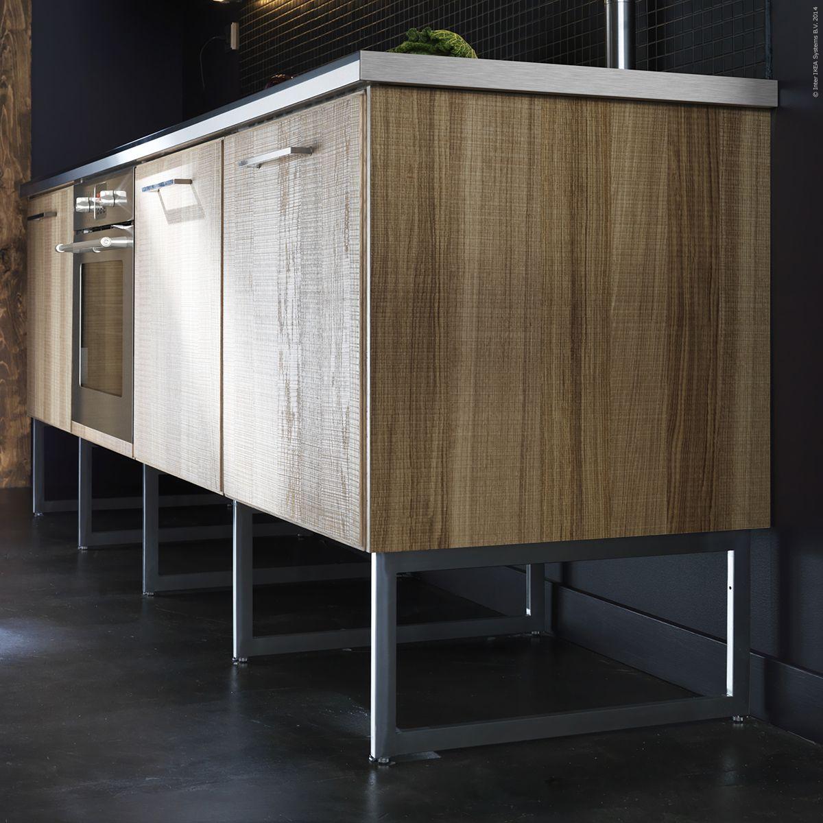 kitchen cabinets with legs cabinet handles black limhamn ben och metod bänkskåp i nya mått ger en luftigare