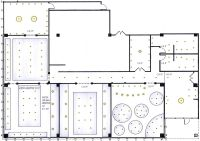 ceiling plan restaurant | REFLECTED CEILING PLAN | RCP ...
