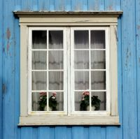 107/366 The window in the blue house