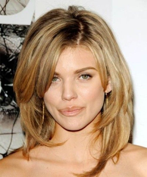 Medium Length Haircuts For Round Faces Thin Hair Lively Hairstyles
