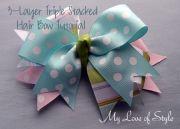 easy diy boutique hair bow tutorial