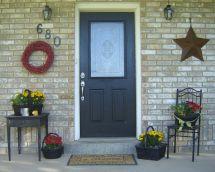Porch Decorating Ideas Home Updates