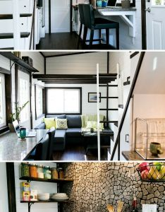 Not your average tiny house  unique luxury with beautiful design also rh pinterest