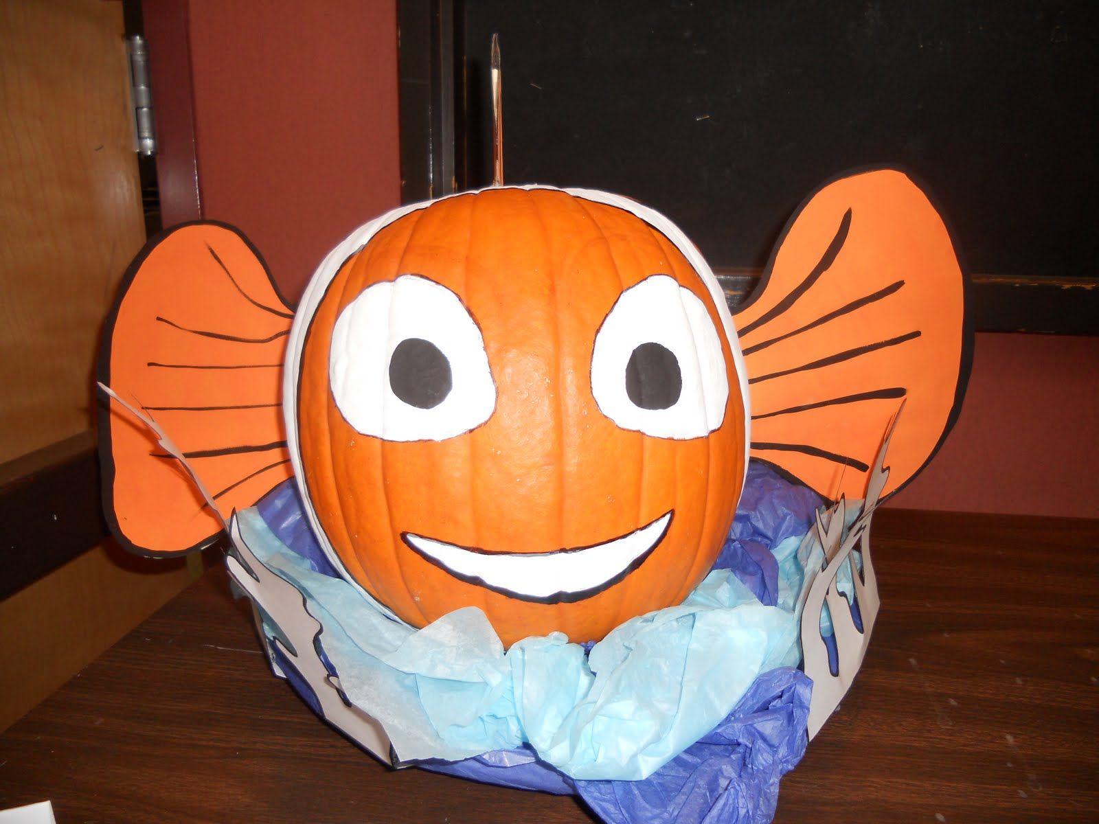 Clown Fish Pumpkin