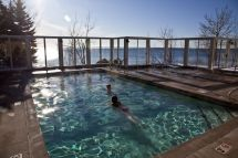 Outdoor Hot Tub And Pool Bluefin Bay Minnesota North