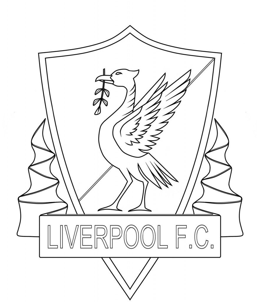 printable liverpool fc coloring pages: printable liverpool